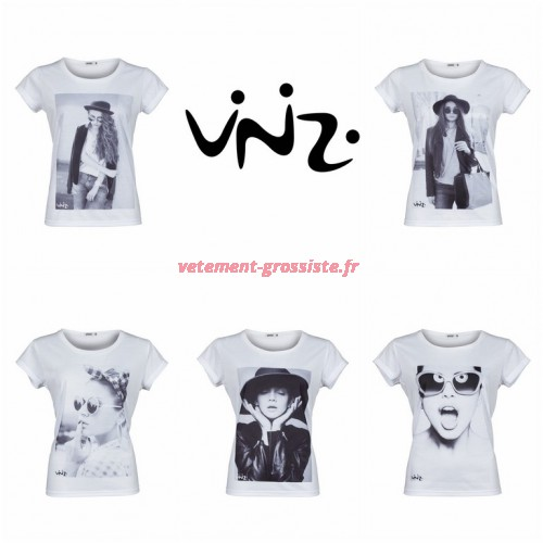 Dames Vinizi Mix T-shirt