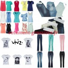 Vêtements marques kit de démarrage Mix - Vero Moda, Vinizi, Tom Tailor, S. Oliver, Tamaris, vente par correspondance