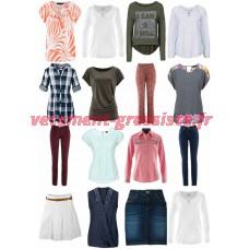 Les femmes Textiles Stocklots - Jeans chemisiers Chemises tunique roche, etc.
