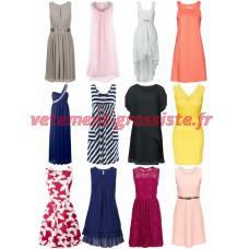 Les femmes robe forfait mixte