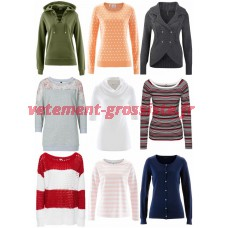 Pull femme Pull en tricot Mix