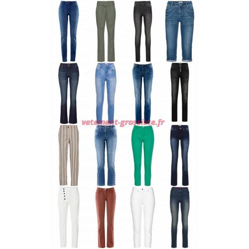 Pantalons Jeans palettes Clearance Mix