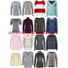 Mélange de vêtements dhiver des femmes - pull en tricot chandail manches longues etc chemises
