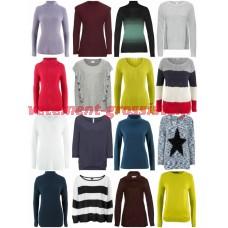 Mesdames Automne Hiver Mode Textiles Mix - Tricot Pull Chandail À Manches Longues Chemises etc
