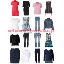 Mesdames Plus Size Vêtements Mode Remnants Textiles