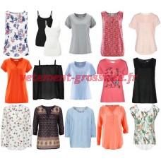 Vêtements dété pour femmes Soldes Soldes T-shirts Blouses Tuniques Pantalons Hauts Robes