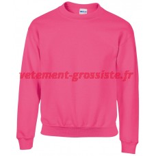 Sweat-shirt à capuche enfant rose