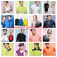 Textiles Promotionnels Vêtements de travail Vêtements de sport Impression Gastronomie Grossiste