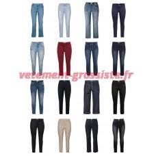 Pantalons Jeans Grandes Tailles Taille Mixte