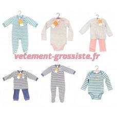 Vêtements pour bébé Hiver Textiles de bébé Pyjamas Bodys Salopette