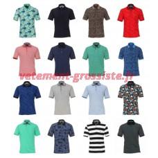 T-shirt à manches courtes pour hommes de la marque Polos