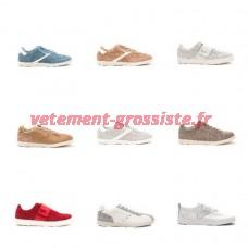 Chaussures GAS en cuir chaussures de marque des hommes en cuir baskets
