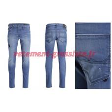 Pantalons Jeans de marque Jack and Jones pour hommes J & J Glenn