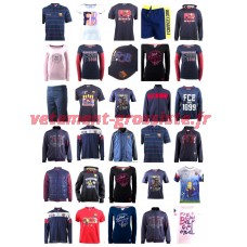 FC Barcelona Fan Clothing Sportswear Vêtements de Football Mix