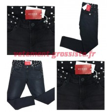 Guess Jeans Beverly Black Femmes Marques Pantalons Brand Mix