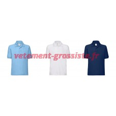 Fruit of the Loom Maillot de polo uni pour enfants Polos