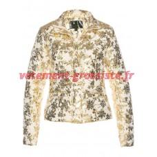 Veste dhiver femme veste matelassée avec impression