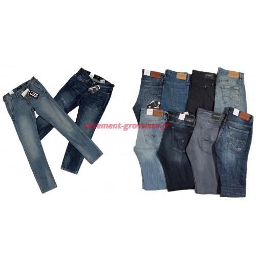 Guess Jeans Pantalons de marque pour hommes Marque Mix