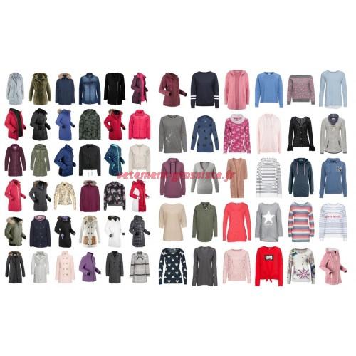 Vêtements dhiver pour femmes Vestes Manteau Pullover Pull Mix
