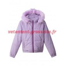 Kids Girls Jacket Veste à capuche matelassée