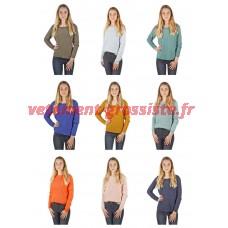 Mélange de pull en tricot pour femme Vero Moda