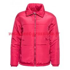 Veste hiver matelassée femme rose
