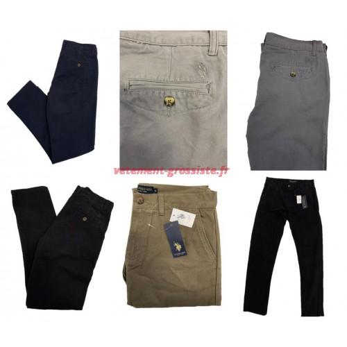 États-Unis Polo Assn. Pantalon pour homme de la marque chino mix