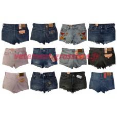 Levis Jeans Shorts Femmes Marques Pantalons Marque Jeans Mix