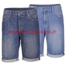 Short homme Bermuda jeans pantalon