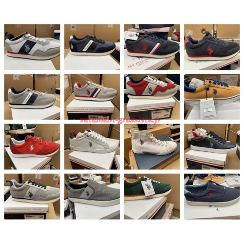 US Polo Assn. Chaussures hommes marque chaussures sneaker mix