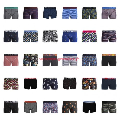 Jack & Jones boxer shorts mix de sous-vêtements pour hommes