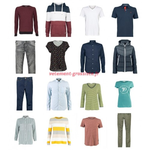 Tom Tailor Fashion Femmes Hommes Vêtements Mix