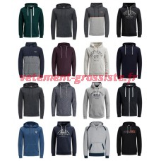 Jack & Jones Hoodies Zipper Mens Mix
