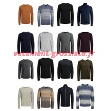 Jack & Jones Pullover Sweatshirt Hommes Mix