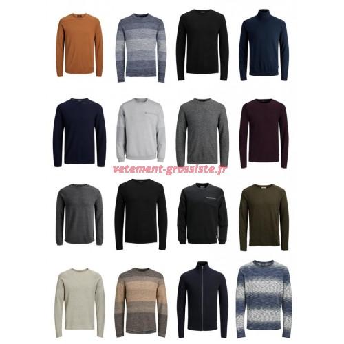 Jack & Jones Pullover Sweatshirt Hommes Mix