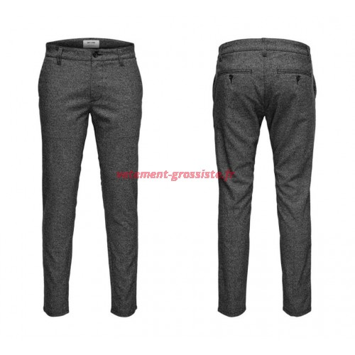 Only & Sons pantalon chino homme gris
