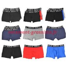 Replay boxer pour hommes sous-vêtements mix - pack de 3