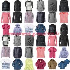Vêtements de marque de qualité Automne Hiver Mix
